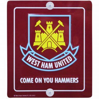 Mini West Ham United Crest Metal Sign