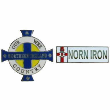 Northern Ireland Our Wee Country Badge Set