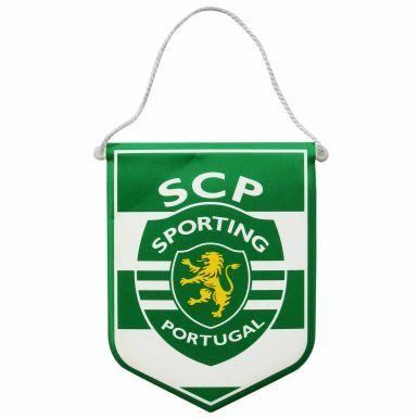 Sporting Lisbon Crest Mini Pennant