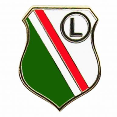 Legia Warsaw SA Crest Pin Badge