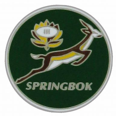 South Africa Springboks Crest Pin Badge