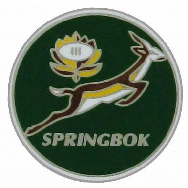 South Africa Springboks Crest Pin Badge