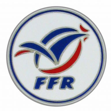 France FFR Rugby Crest Pin Badge