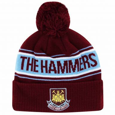 West Ham United Crest Ski Hat