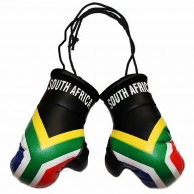 South Africa Leather Mini Boxing Gloves