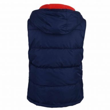 Ladies England RFU Rugby Hooded Gilet