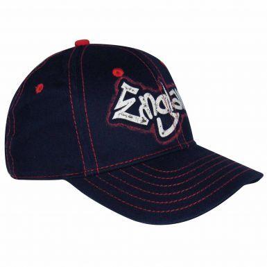 Kids England 3 Lions Crest Baseball Cap