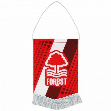 Nottingham Forest Crest Mini Pennant