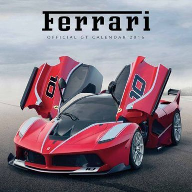Official Ferrari GT 2016 Calendar