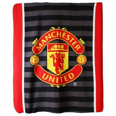 Manchester United Crest Fleece Blanket