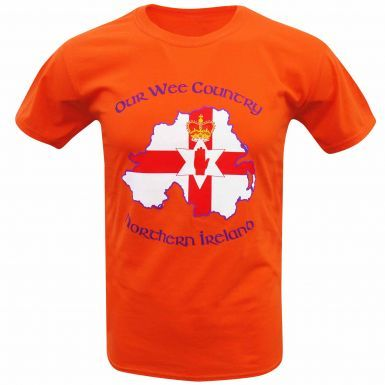 Northern Ireland Our Wee Country Flag T-Shirt