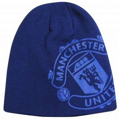 Kids Manchester United Beanie Hat