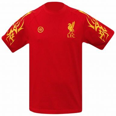 Liverpool FC Crest T-Shirt by Warrior