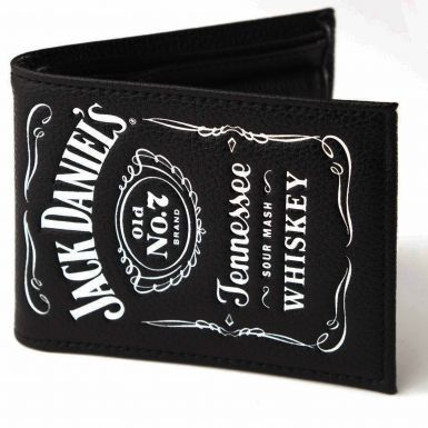 Jack Daniels Whiskey Label Wallet