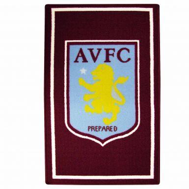 Aston Villa Crest Rug