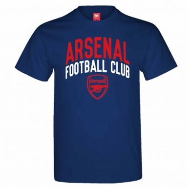 Arsenal FC Crest Football T-Shirt