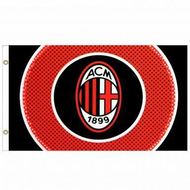 Giant AC Milan Football Crest Flag