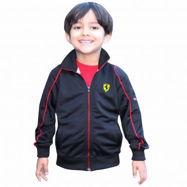 F1 Ferrari Scuderia Kids Zipped Jacket by Puma