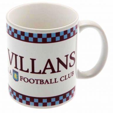 Aston Villa 'Villains' Football Mug