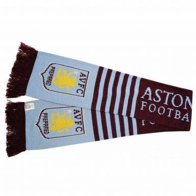 Aston Villa Football Crest Scarf
