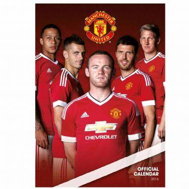 Manchester Utd 2016 Soccer Calendar