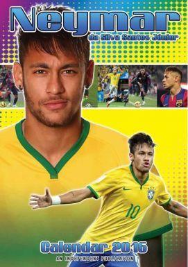 NEYMAR Jnr & Brazil 2016 Soccer Calendar