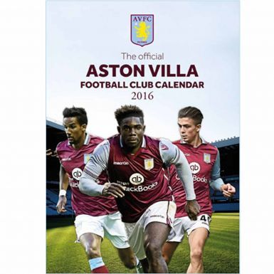 Aston Villa 2016 Football Calendar