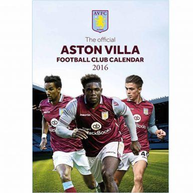 Aston Villa 2016 Soccer Calendar