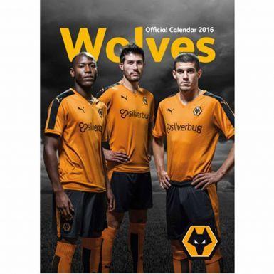 Wolverhampton Wanderers Wolves 2016 Football Calendar