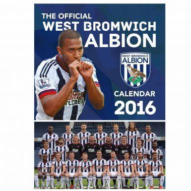 West Bromwich Albion 2016 Calendar