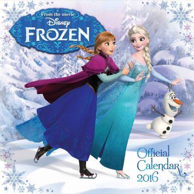 Disney Frozen Film Anna & Elsa 2016 Calendar