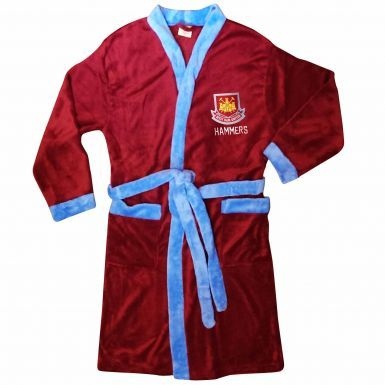West Ham United Adults Dressing Gown