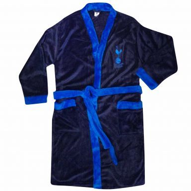Spurs Football Crest Adults Dressing Gown