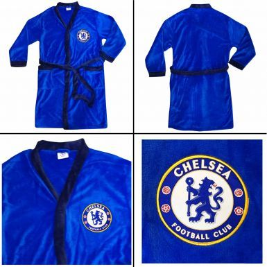 Chelsea FC Adults Unisex Dressing Gown