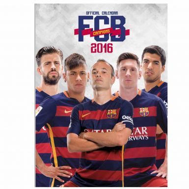 FC Barcelona 2016 Football Calendar