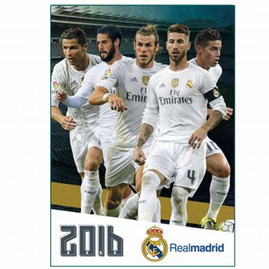Real Madrid 2016 Football Calendar