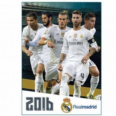 Real Madrid 2016 Soccer Calendar