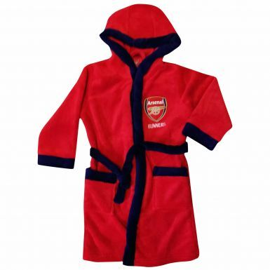 Arsenal FC Kids Hooded Dressing Gown