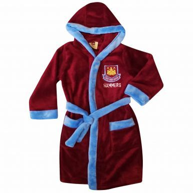 West Ham Kids Dressing Gown