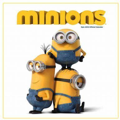 Minions Film 2016 Calendar