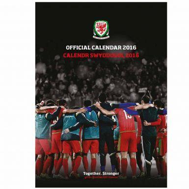 Wales 2016 Football Calendar