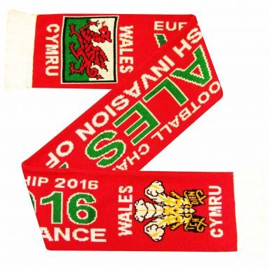 Wales 2016 Euro Finals Scarf