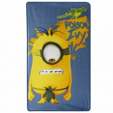 Official Minions Poison Ivy Fleece Blanket