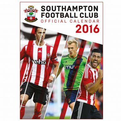 Southampton FC 2016 Soccer Calendar