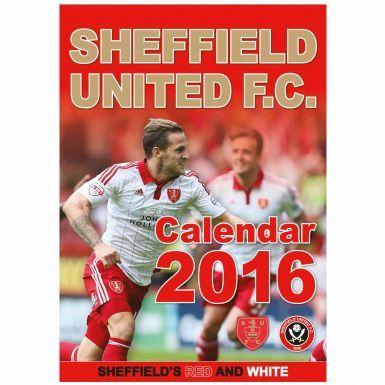 Sheffield United 2016 Football Calendar