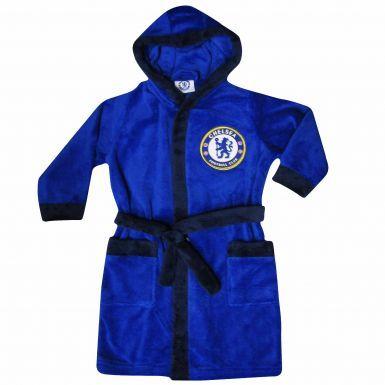 Chelsea FC Kids Hooded Dressing Gown