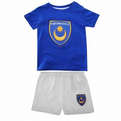 Portsmouth FC Baby Football Kit