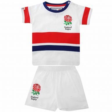 Official England Rose Rugby Kids Kit