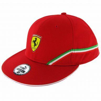 Scuderia Ferrari F1 Wide Brim Baseball Cap