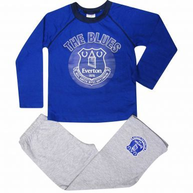 Everton FC Kids Football Pyjamas